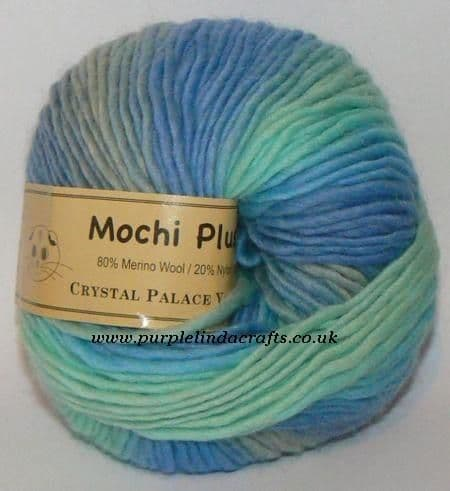 Crystal Palace Mochi Plus Wool 617 Seaview DISCONTINUED
