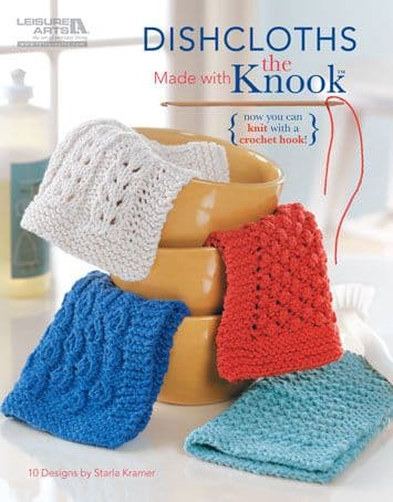 Dishcloths made with the KNOOK Book 5585 DISCONTINUED