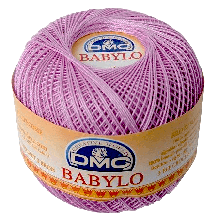 DMC BABYLO Crochet Cotton No.10 153 Pale Lilac