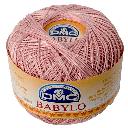 DMC BABYLO Crochet Cotton No.10 224 Dusky Pink