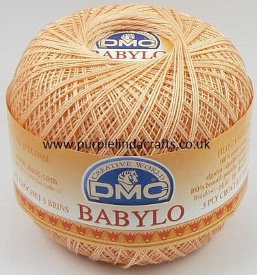 DMC BABYLO Crochet Cotton No.10 453 PEACH