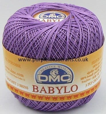 DMC BABYLO Crochet Cotton No.10 553 PURPLE Violet