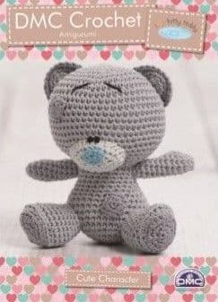 DMC Natura Tiny Tatty Teddy Amigurumi Crochet Pattern 15283