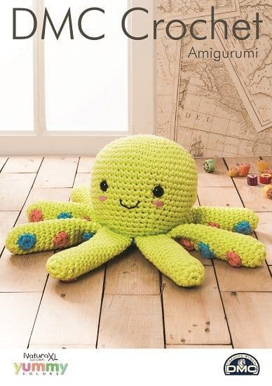 DMC Natura XL OCTOPUS Crochet Pattern 15380