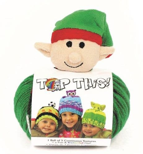 DMC Top This ELF Hat Yarn REDUCED
