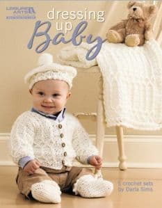 Dressing Up Baby Crochet Book LA 4780 DISCONTINUED
