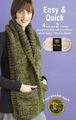 Easy & Quick Knit & Crochet Pattern Book A5 75282 DISCONTINUED