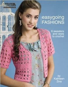 Easygoing Fashions Crochet Book LA 4515 DISCONTINUED