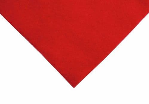 FELT Rectangles 19 Oriental Red