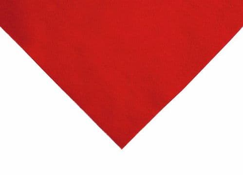 FELT Rectangles 29 RED