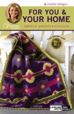 For You & Your Home Crochet Pattern Book A5 75265 DISCONTINUED