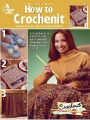How to Crochenit Book AA 873216 DISCONTINUED