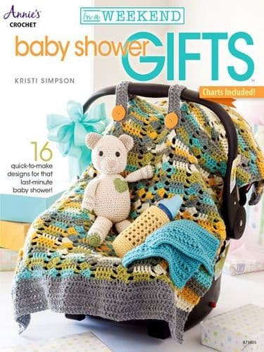 In a Weekend Baby Shower Gifts Crochet Book AA 871605 DISCONTINUED