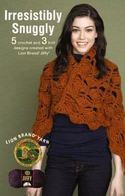 Irresistibly Snuggly Crochet & Knit Pattern Book A5 75344 DISCONTINUED