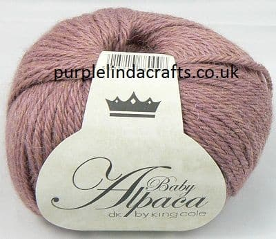 King Cole Baby Alpaca DK 701 Ginger DISCONTINUED