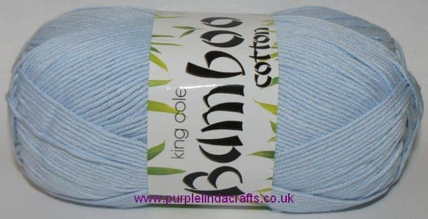 King Cole Bamboo Cotton DK 518 ICE Blue