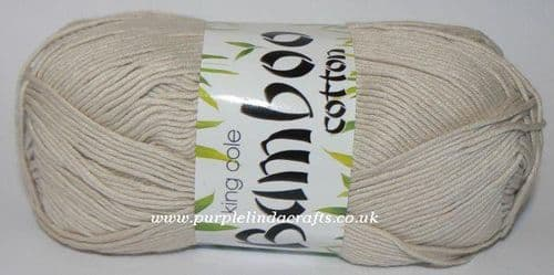 King Cole Bamboo Cotton DK 543 OYSTER