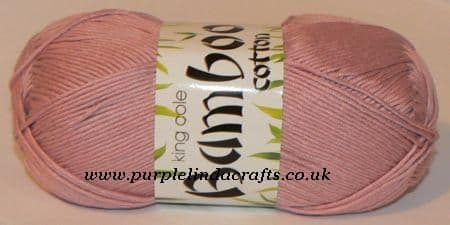 King Cole Bamboo Cotton DK 618 Dusty Pink