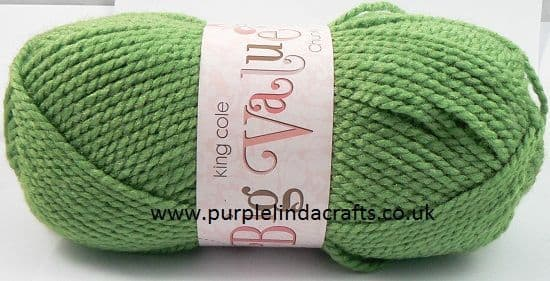 King Cole Big Value CHUNKY 548 MOSS Green