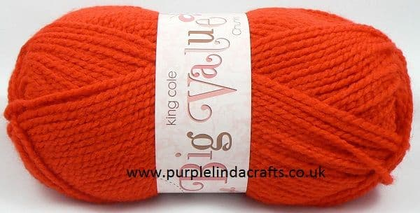 King Cole Big Value CHUNKY 553 RED
