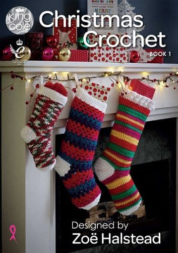 King Cole Christmas Crochet Book 1