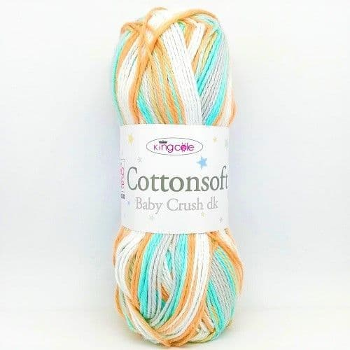 King Cole Cottonsoft Baby Crush DK 2876 Pixie