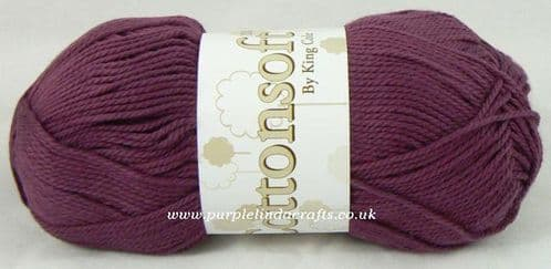 King Cole Cottonsoft DK 784 Wine DISCONTINUED