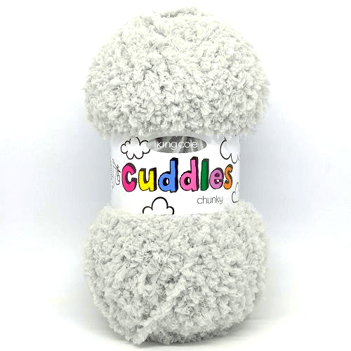 King Cole CUDDLES Chunky 3141 Silver