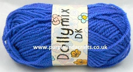 King Cole Dollymix DK 21 ROYAL Blue