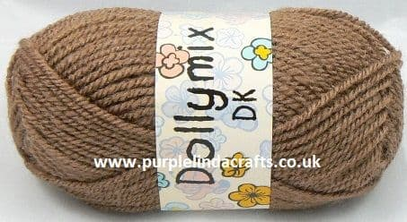 King Cole Dollymix DK 37 TAUPE Brown
