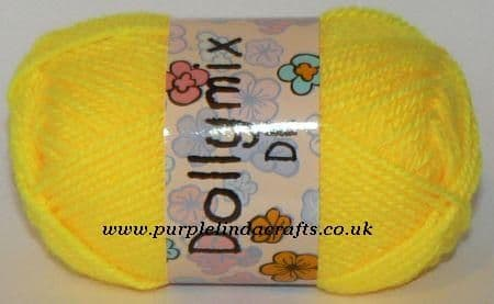 King Cole Dollymix DK 38 Acid Yellow