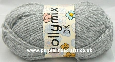 King Cole Dollymix DK 49 Clerical Grey