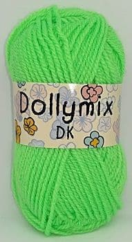 King Cole Dollymix DK 71 Lime Green