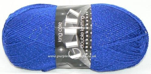 King Cole Glitz DK 564 ROYAL Blue DISCONTINUED