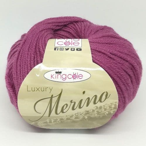 King Cole Luxury Merino DK 2639 Antique Rose