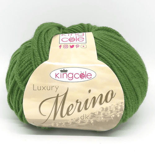 King Cole Luxury Merino DK 3388 Leaf Green