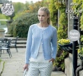 King Cole Luxury Merino DK Knitting Patterns