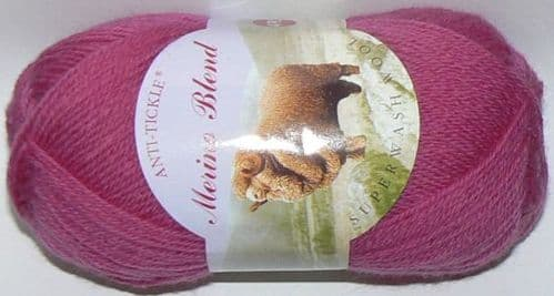 King Cole Merino 4ply Wool 787 FUCHSIA Pink DISCONTINUED
