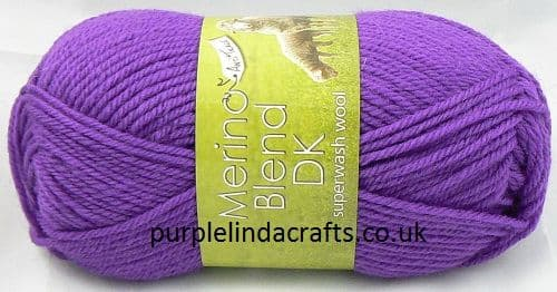 King Cole Merino Blend DK Superwash Wool 1530 Crocus DISCONTINUED