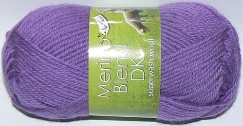 King Cole Merino Blend DK Superwash Wool 788 BILBERRY DISCONTINUED