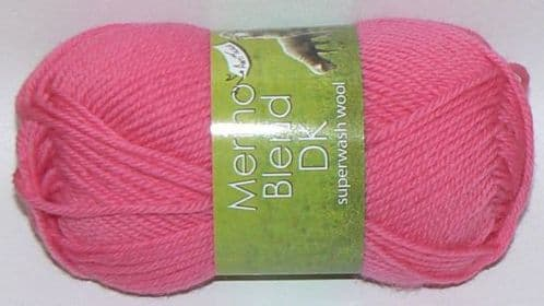 King Cole Merino Blend DK Superwash Wool 797 SUGAR Pink DISCONTINUED