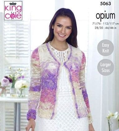 King Cole Opium PALETTE Knitting Patterns