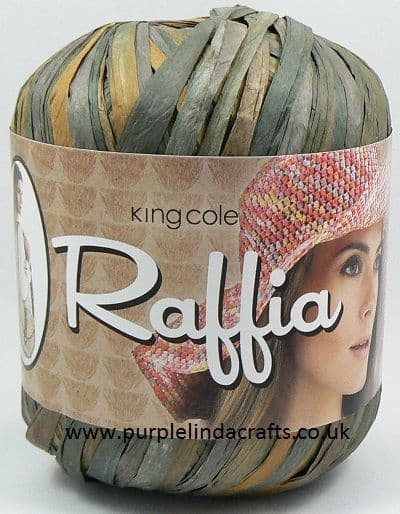 King Cole RAFFIA Yarn 1458 WOODLAND