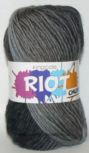 King Cole Riot CHUNKY 651 Domino