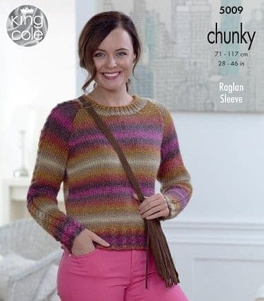 King Cole Riot Chunky Knitting Patterns