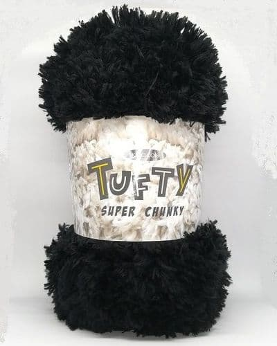 King Cole Tufty Super Chunky 2790 Black