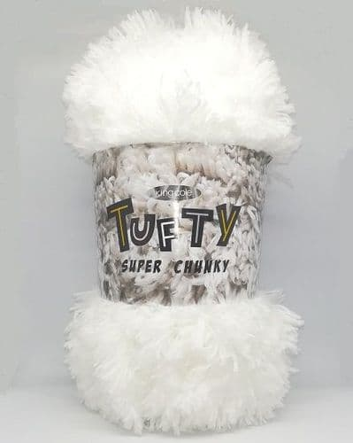 King Cole Tufty Super Chunky 2791 White