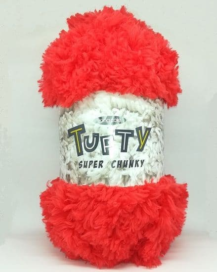King Cole Tufty Super Chunky 2792 Red