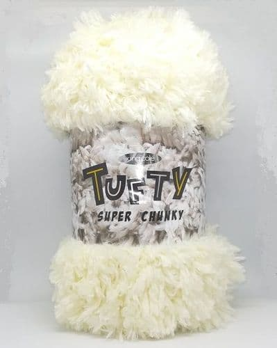 King Cole Tufty Super Chunky 2794 Cream