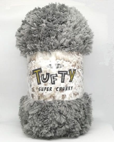 King Cole Tufty Super Chunky 2797 Silver